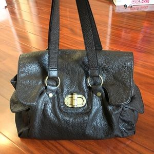 🔥 CLOSET CLEAN OUT: Sisley Brown Faux Leather Bag